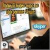 Видеокурс по программе Skype (2012)